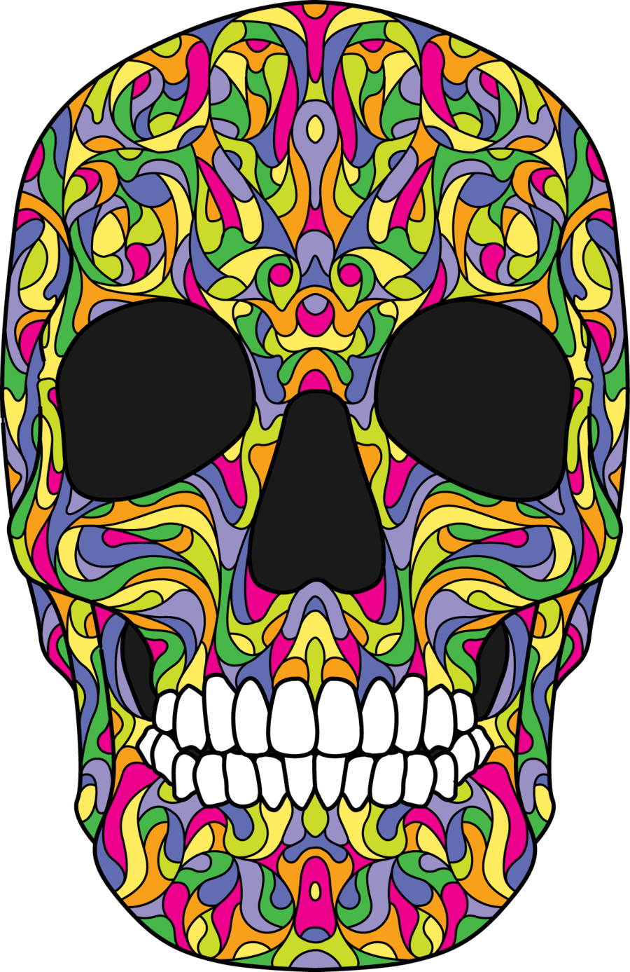 vector download Skull by
