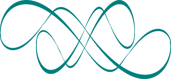 svg royalty free stock teal swirls