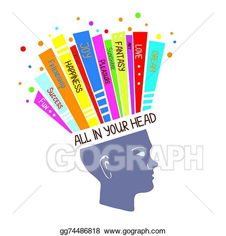 clip art transparent library Eps vector concept with. Psychology clipart right attitude
