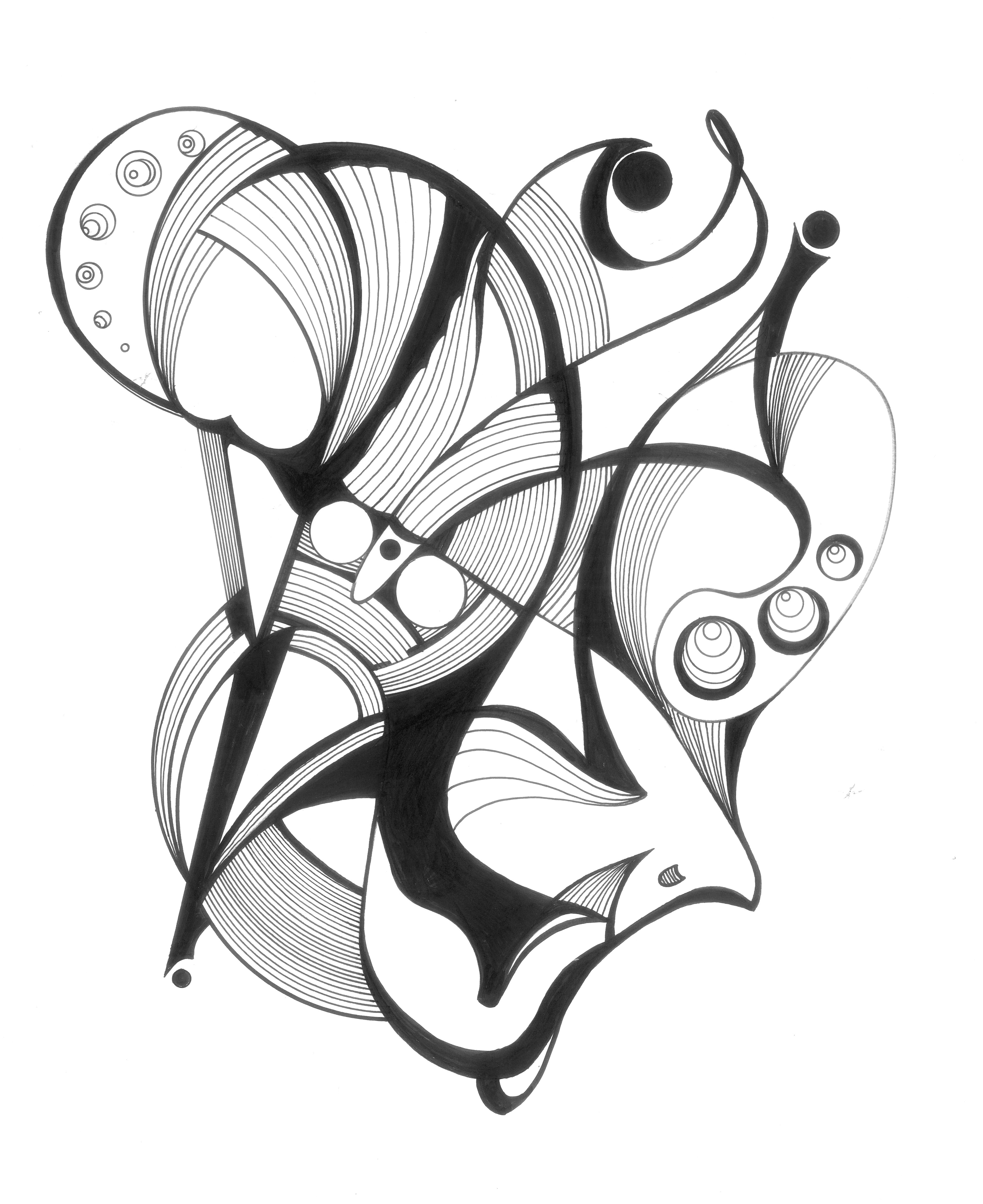 image royalty free stock Pin on my style. Psychology drawing abstract