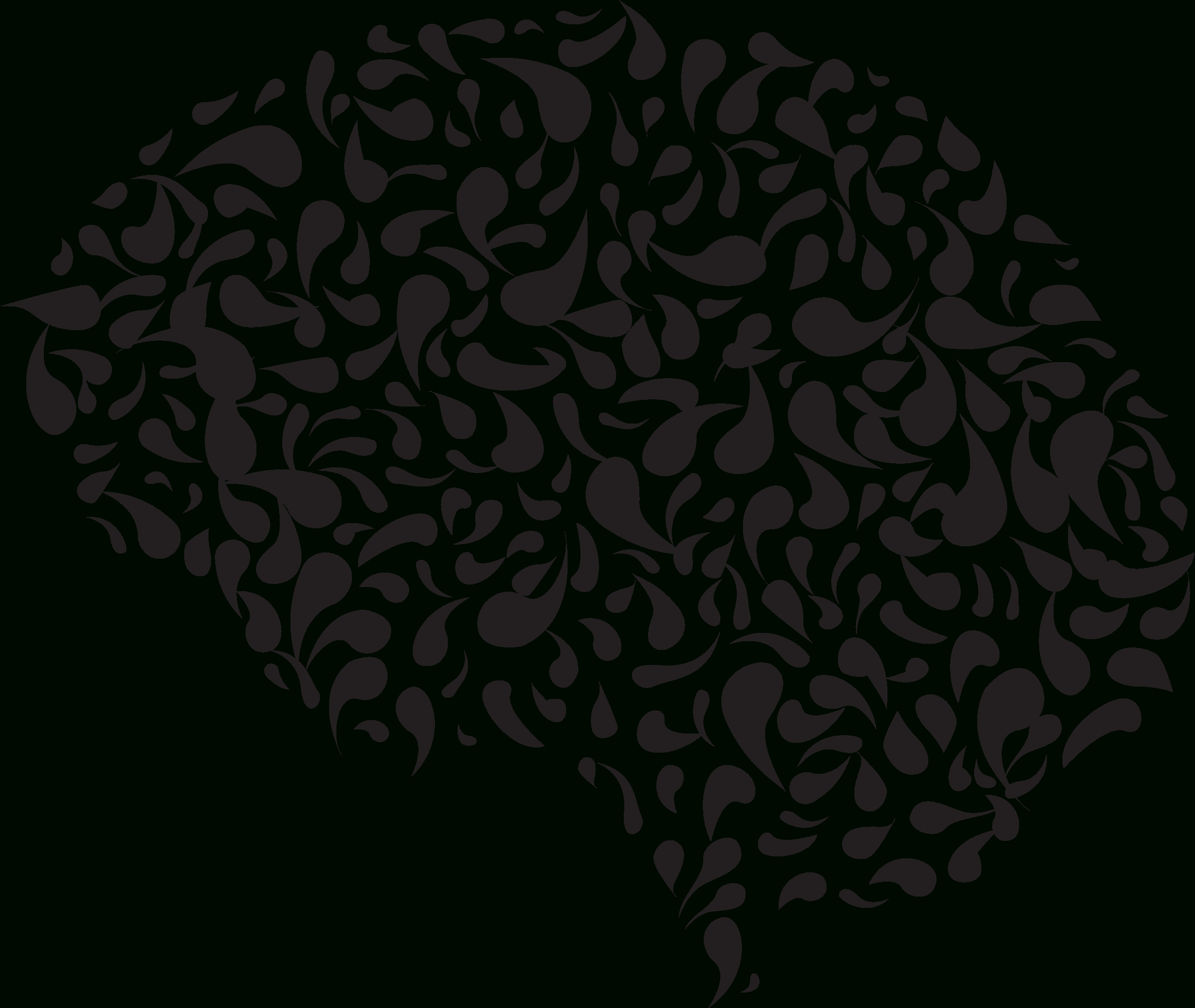 graphic royalty free stock Psychology drawing abstract. Brain and huge