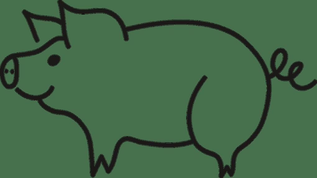 jpg transparent Draw a pig