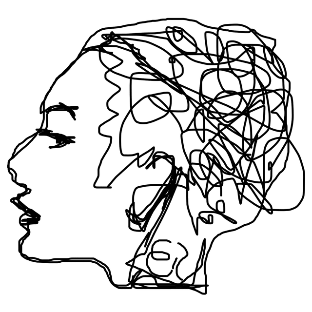 image black and white library psychology drawing schizophrenic #101781432
