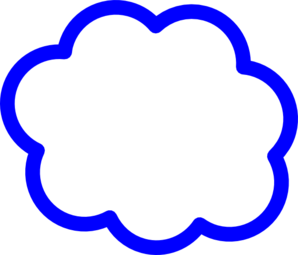 jpg Blue Cloud Clip Art at Clker