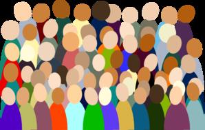 clipart library stock Smaller Crowd Rdc Color clip art