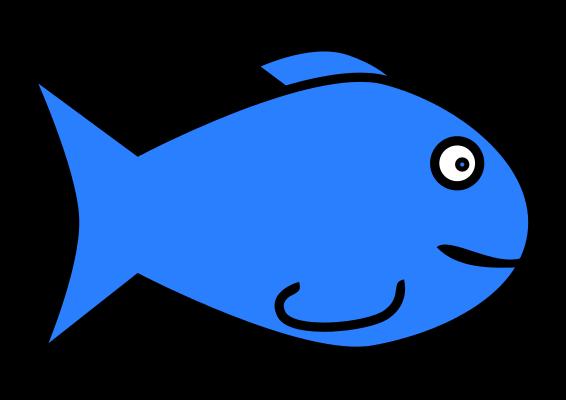 clip transparent Public domain clipart. Fish .