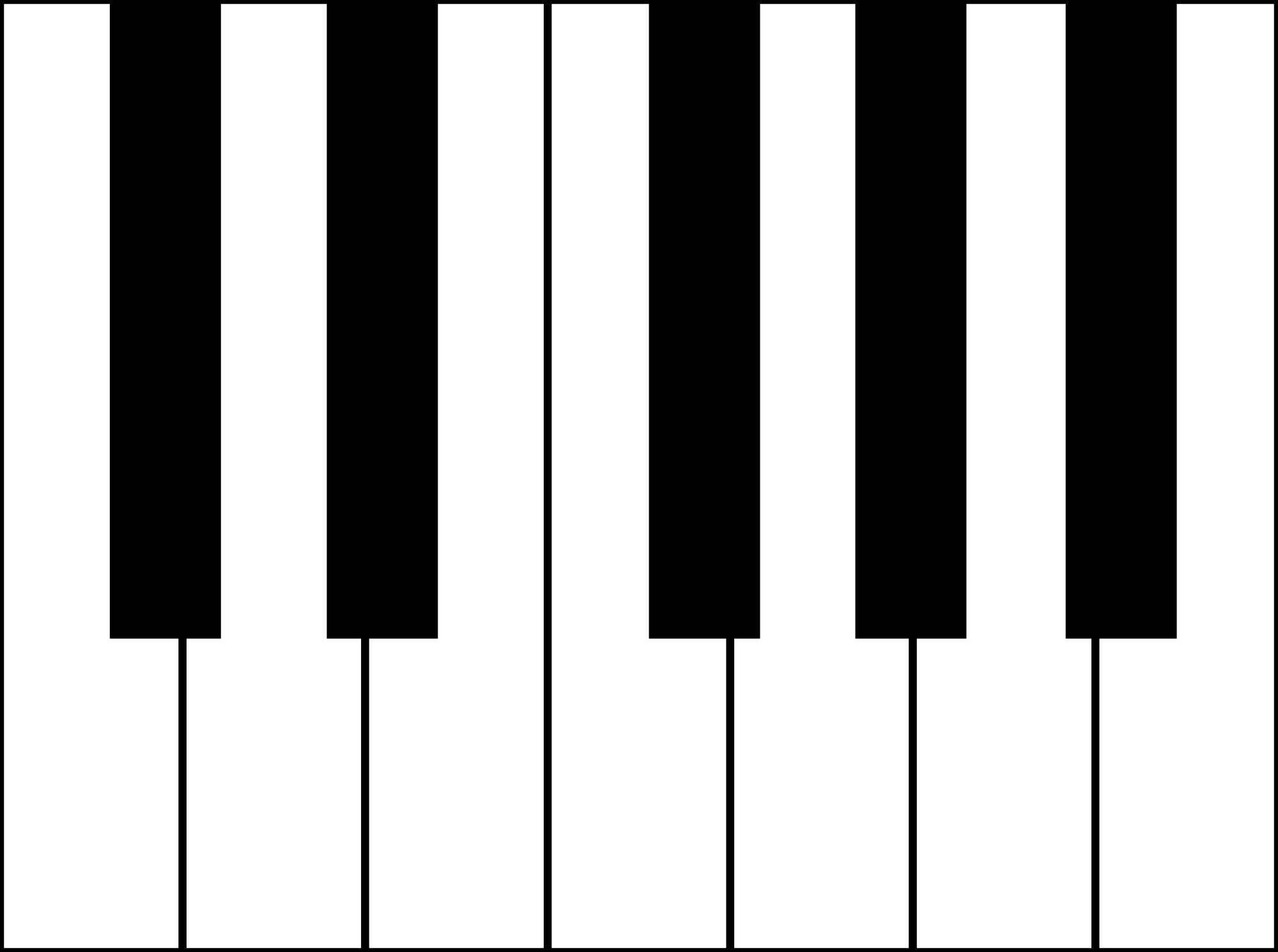 clipart free Free keyboard download clip. Piano key clipart.