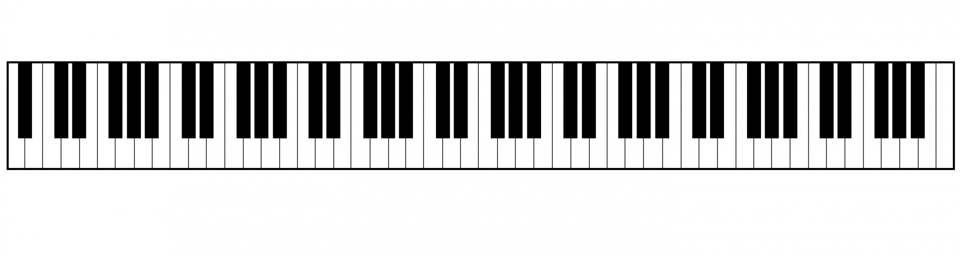 svg transparent download Keyboard free download best. Piano key clipart.