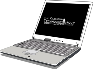image transparent stock Clements Technology Laptop Clip Art at Clker