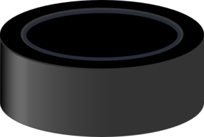 clipart transparent Hockey Puck Clip Art at Clker