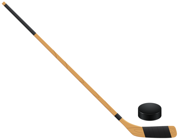 clip transparent download Hockey stick PNG