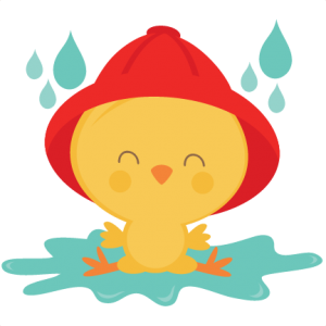 graphic free Puddle clipart. Chick in svg scrapbook.
