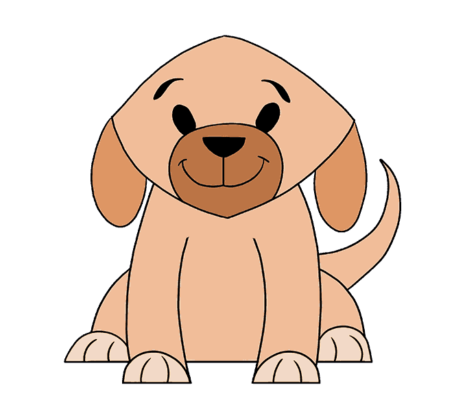 image transparent library Dog Drawing Simple at GetDrawings