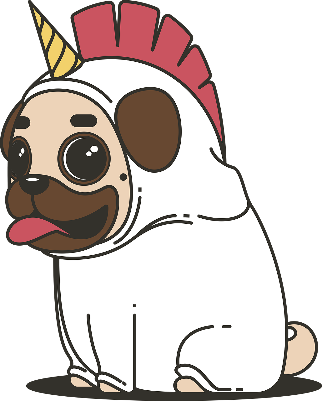 png black and white download Free image on pixabay. Silly clipart dog
