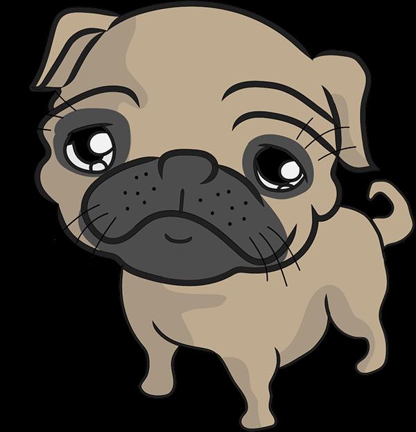 freeuse Pug on Behance