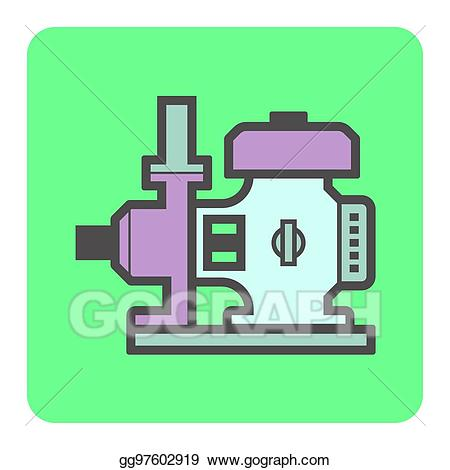 picture free stock Vector illustration icon stock. Pump clipart electric water pump