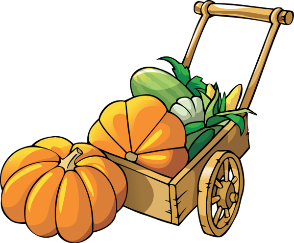 banner royalty free library Pumpkin Leaf Clip Art
