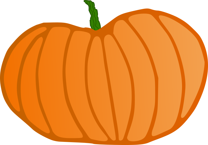 clip transparent library Pumpkin Clip Art Black And White