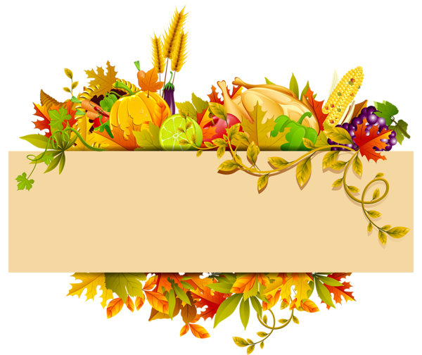 vector free download Thanksgiving Decor PNG Clipart