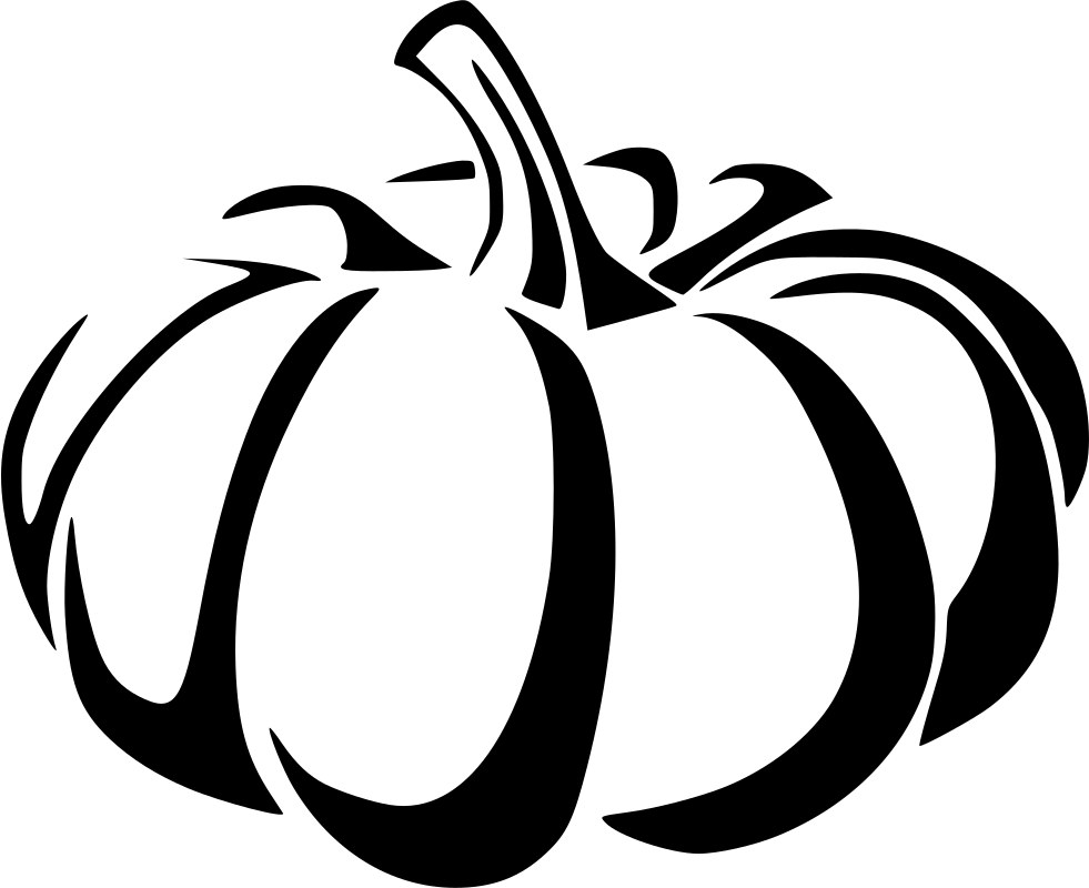 graphic transparent Holiday Vegetable Autumn October Pumpkin White Svg Png Icon Free