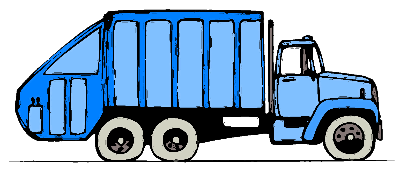 jpg freeuse library Truck clipart rubbish. Hospital free on dumielauxepices