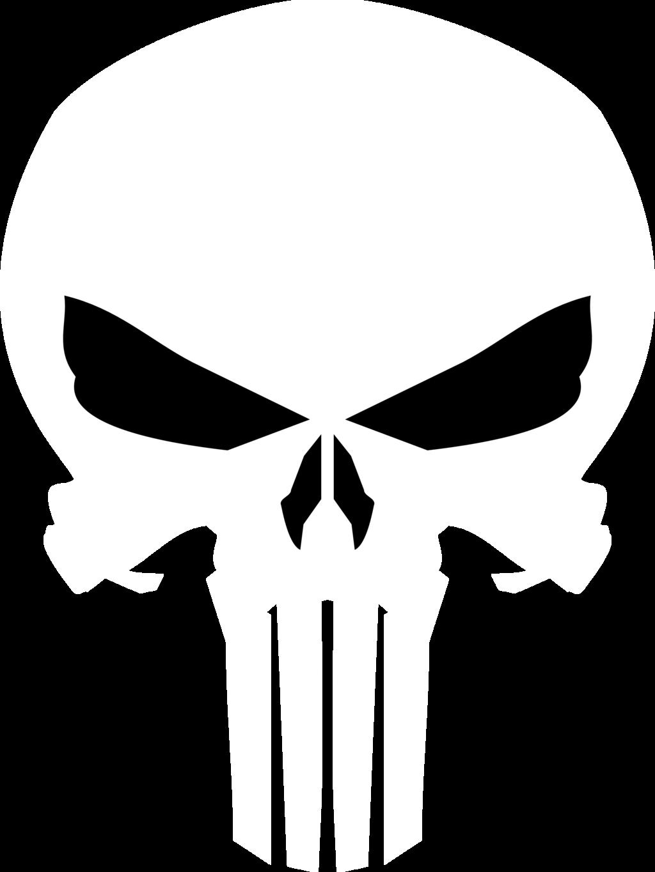 jpg Punisher vector. Skull by jmk prime