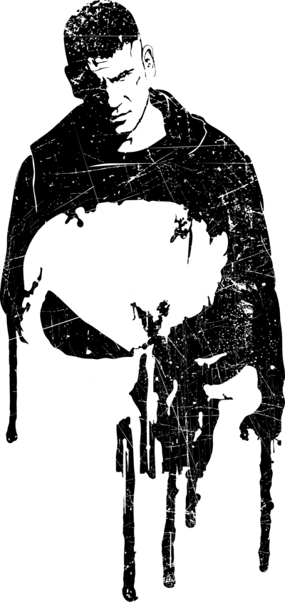 vector royalty free library The Punisher Fan art