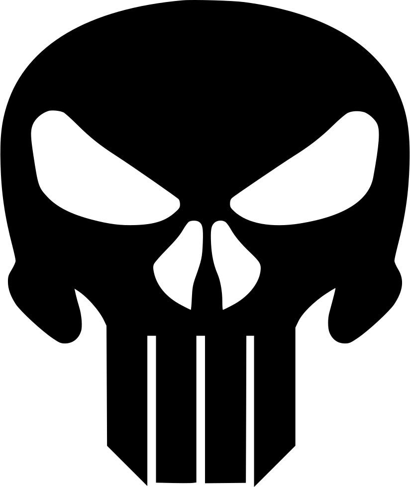 clipart black and white download The Punisher Svg Png Icon Free Download