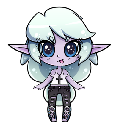svg download Pastel Punk Elf by JouKichi on DeviantArt