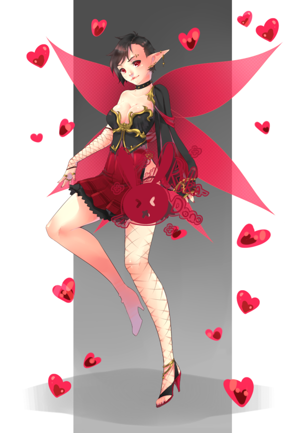 picture transparent library Punk Fairy by rika