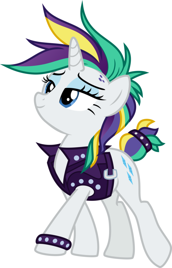 clip art transparent stock Punk Rarity by TheArtsyEmporium on DeviantArt