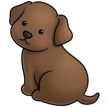 clip art transparent download Lab puppy clipart.  collection of chocolate