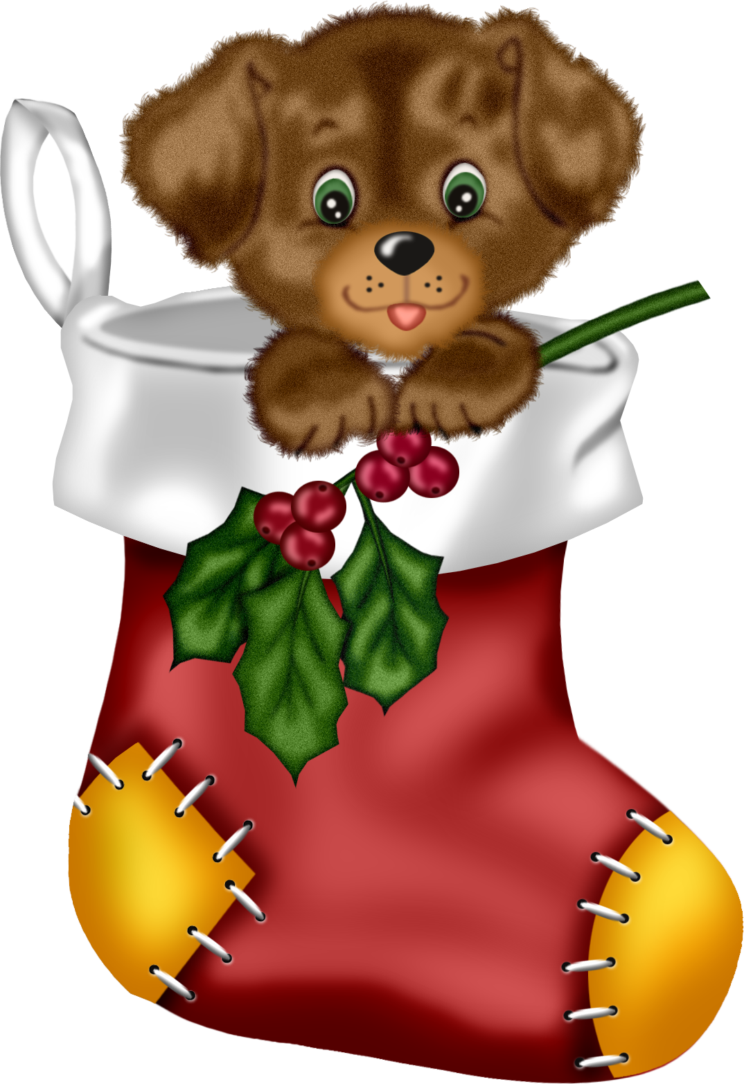 jpg freeuse library Puppy clipart holiday
