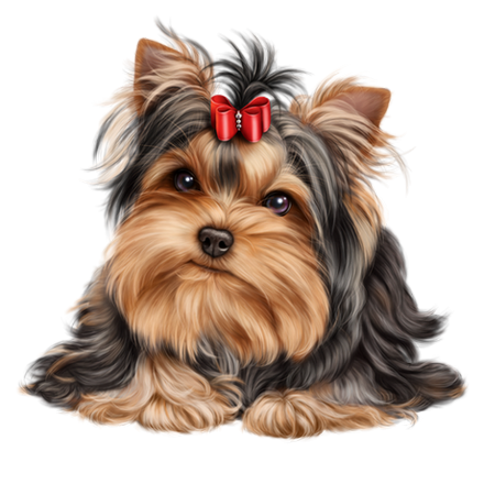 picture library stock Puppies clipart yorkie poo. Chien chiot dog animal