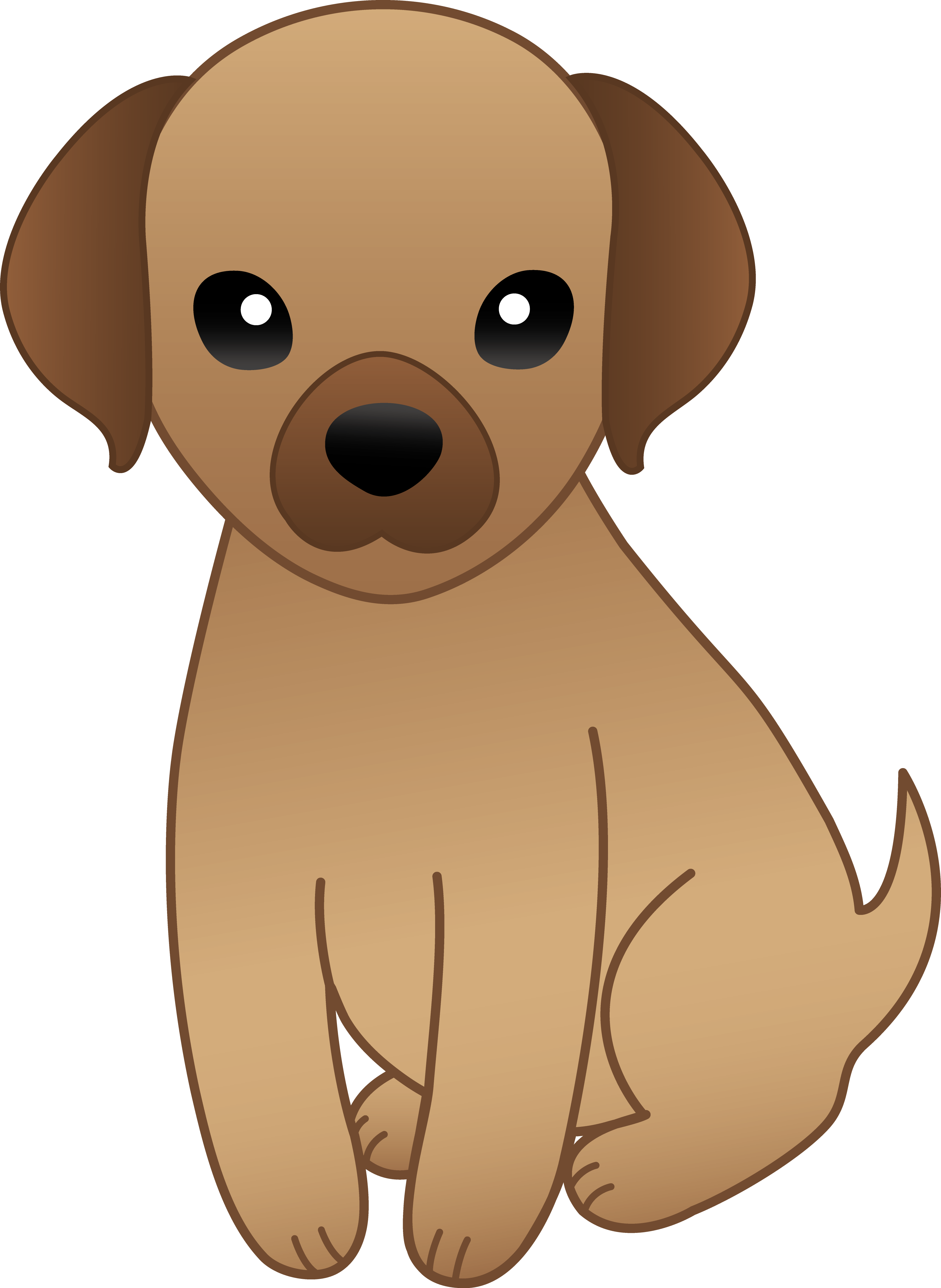 banner freeuse download Little Brown Puppy