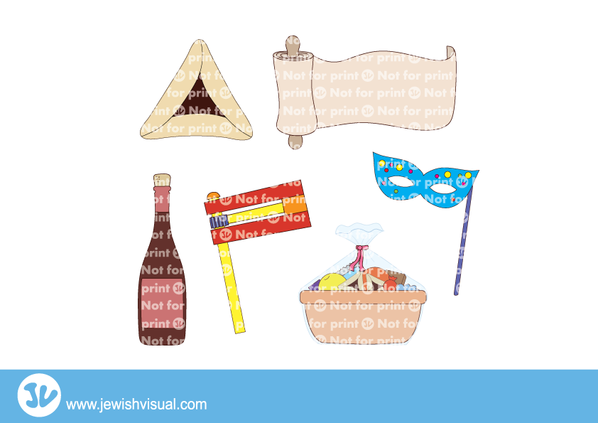 clip art royalty free download Jvisual purimclipart. Purim clipart