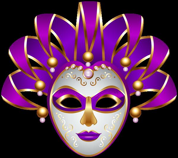 banner freeuse download Purple Carnival Mask Transparent PNG