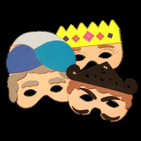 clip art freeuse stock Purim Masks