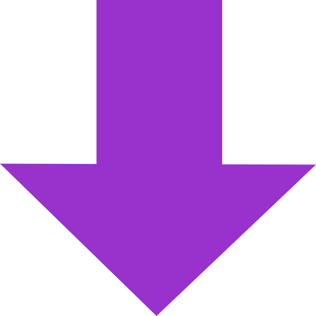 graphic royalty free Free png download clip. Purple arrow clipart.