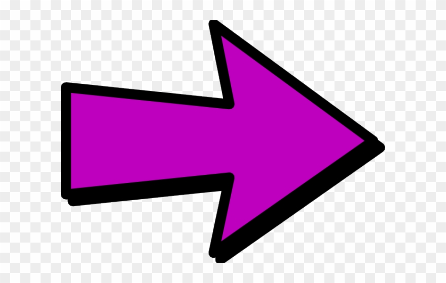 library Purple arrow clipart. Arrows pointing right png.