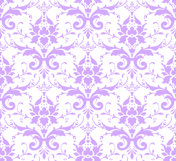 svg transparent library Lavender Damask Background Clip Art at Clker