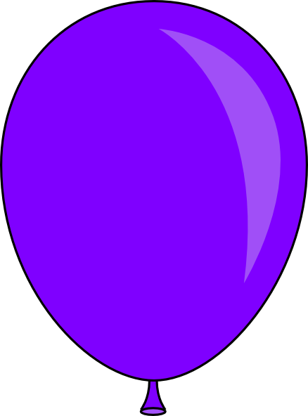 jpg New Purple Balloon Clip Art at Clker