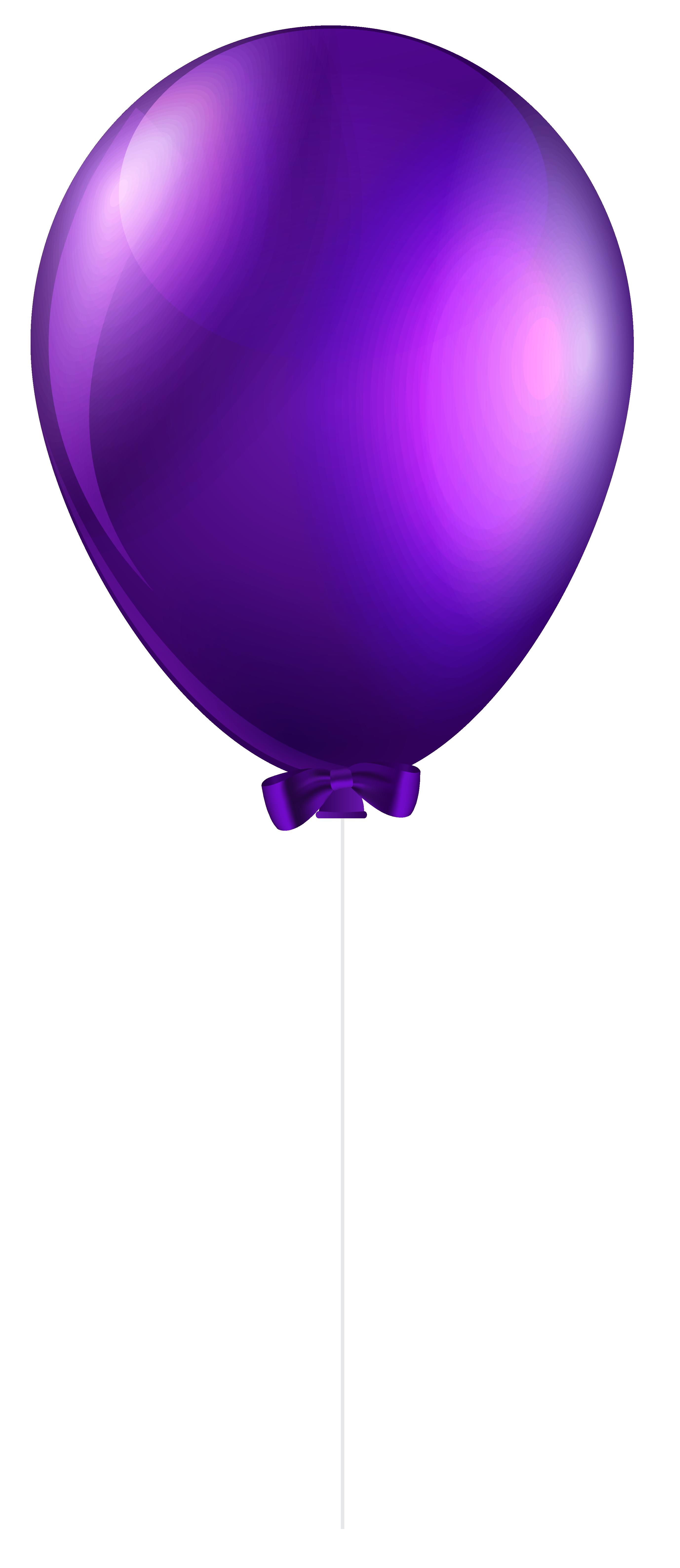 stock Purple png clip art. Transparent balloon