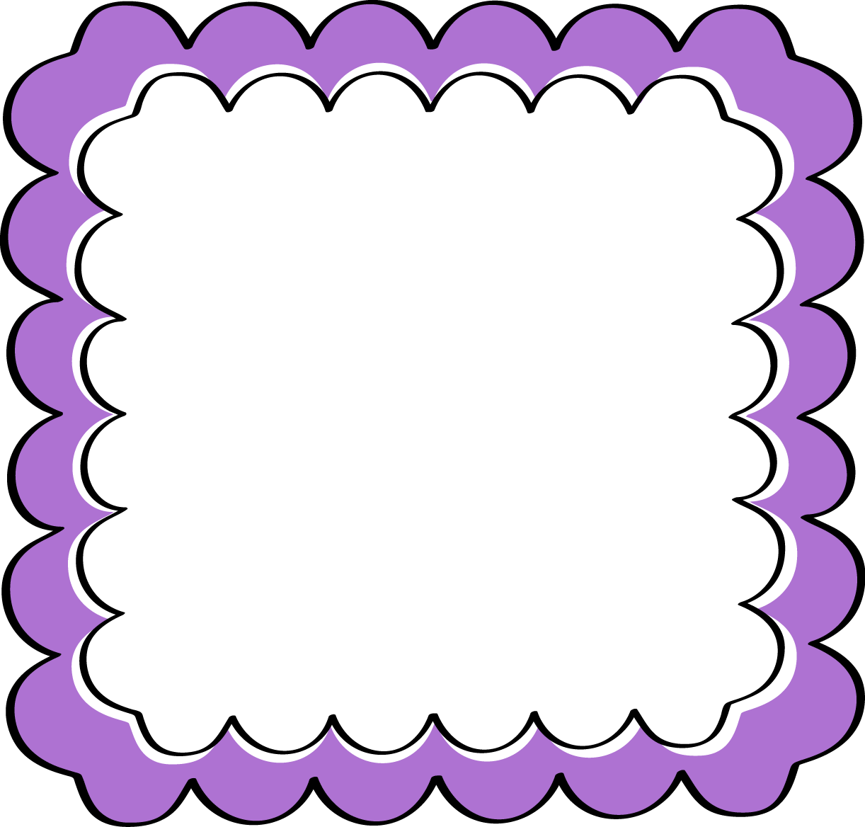 image clipart borders and frames #59842376