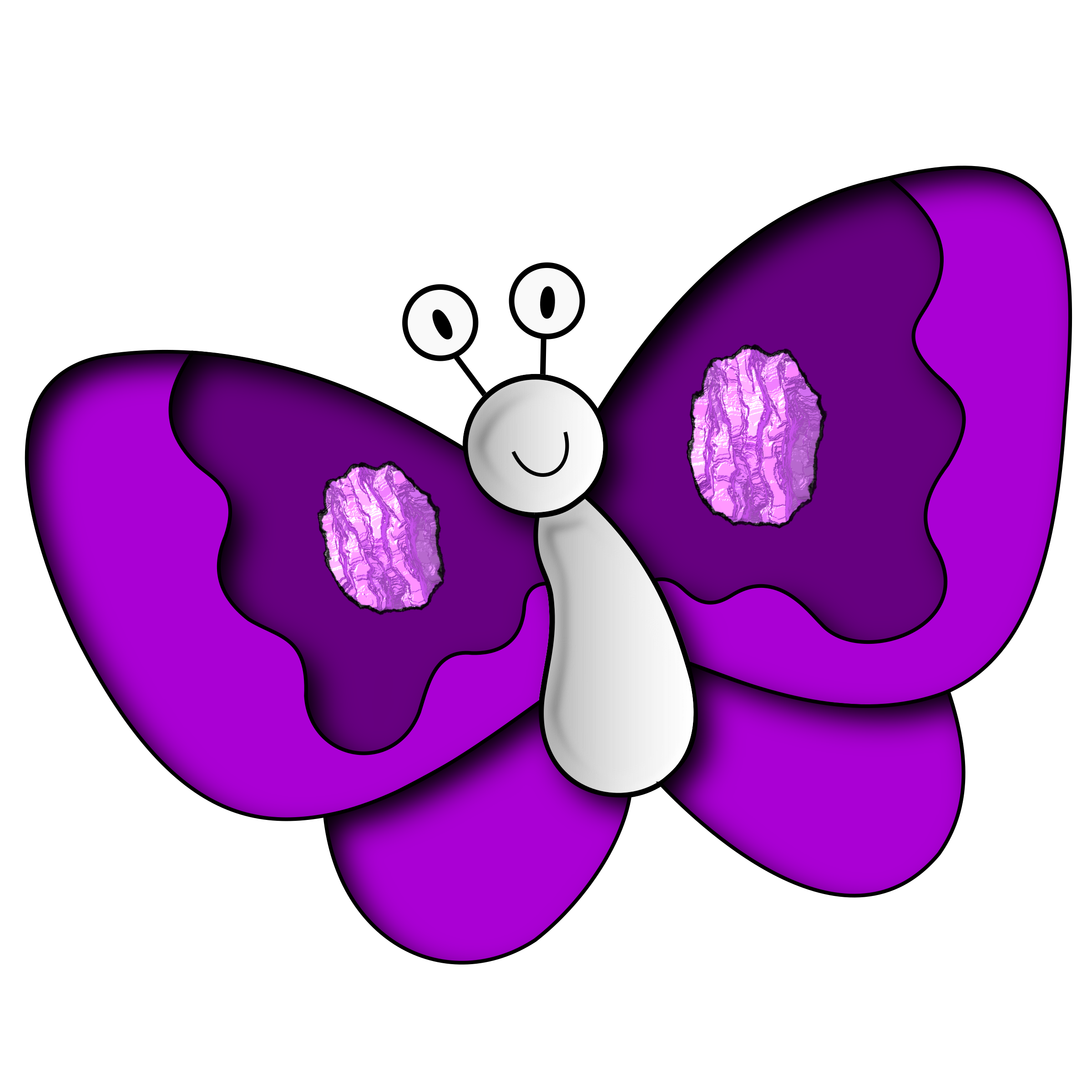 banner freeuse Purple clipart. Butterfly big image png.