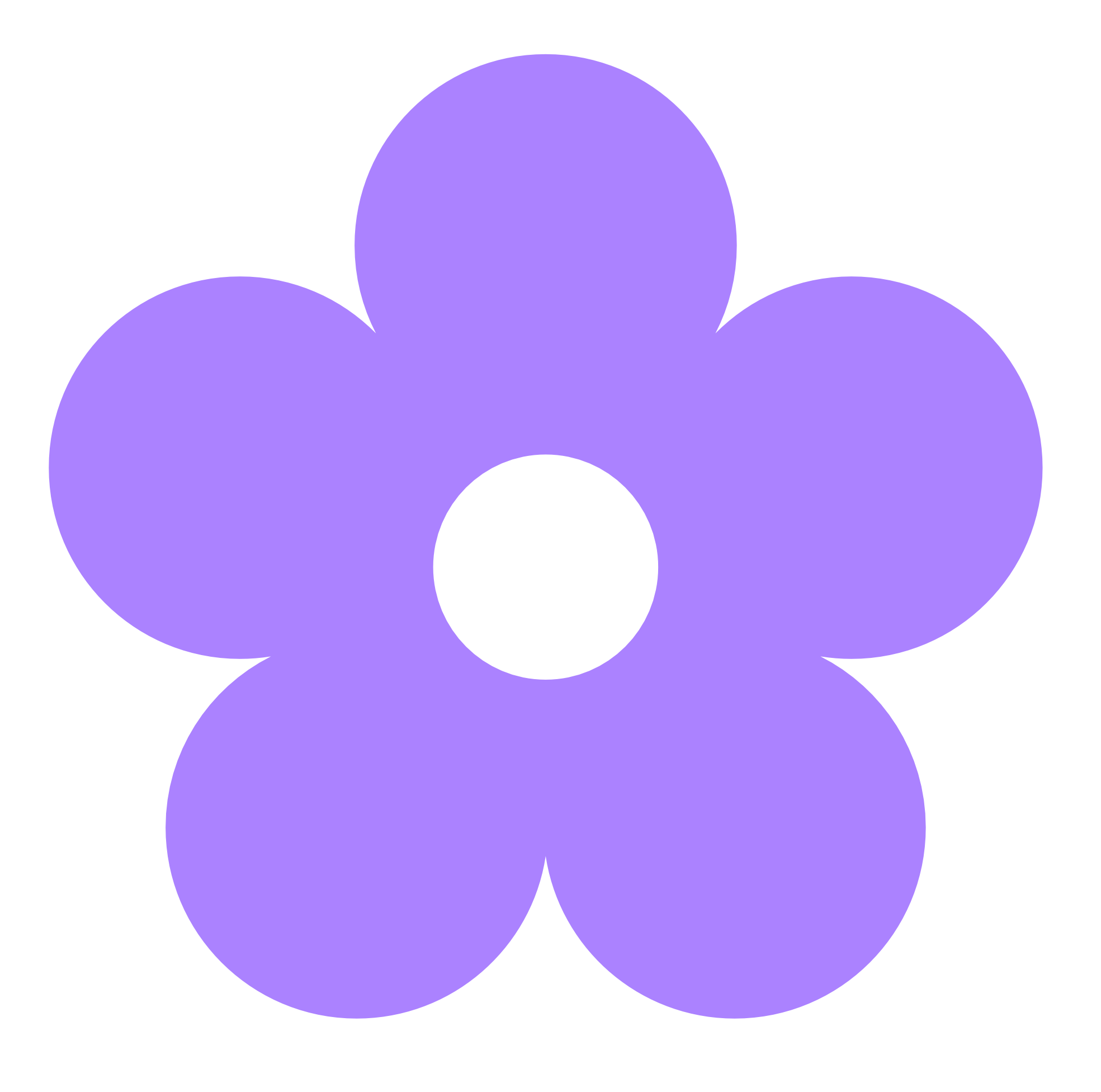 clipart transparent library Purple Flower Clipart