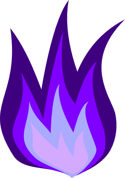 png library Purple Fire Clipart