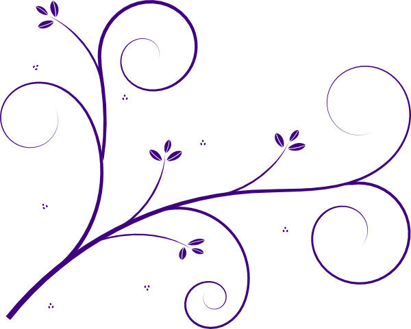 clipart download Flourish Purple Clip Art at Clker