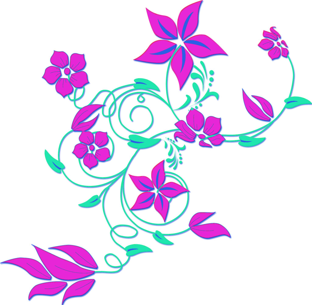 png Purple flower border clip art free clipart images