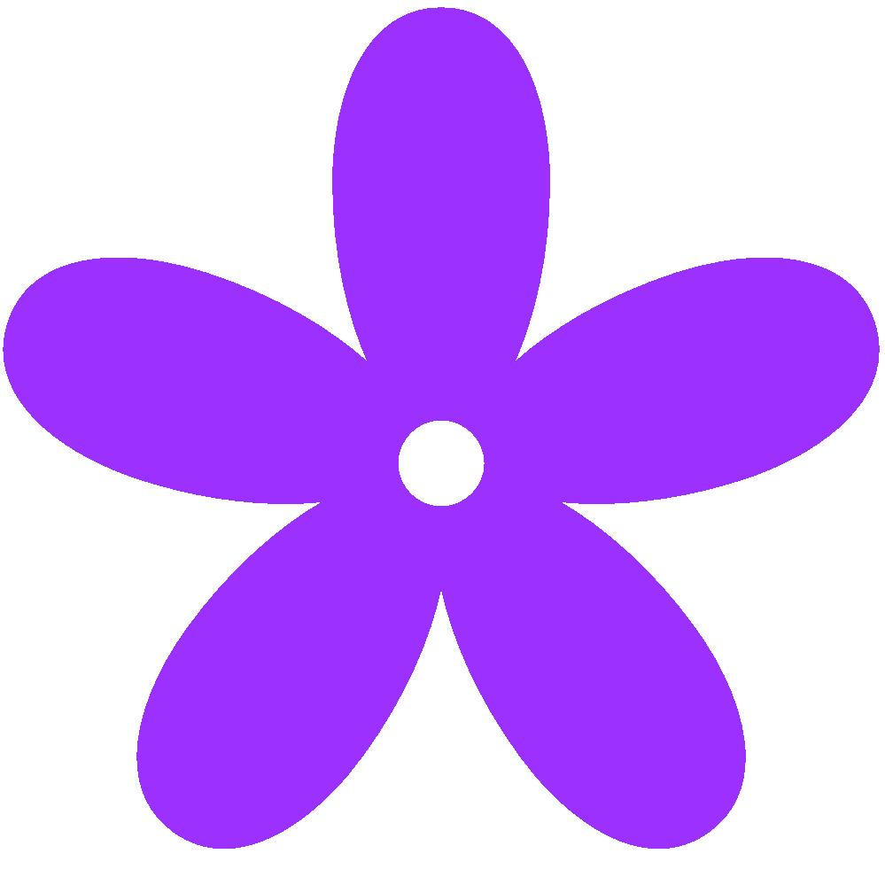 clipart transparent Purple Flower Border Clip Art
